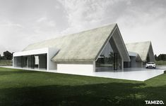 Roof Architecture, Residential Architecture, Contemporary Architecture, Modern Barn House, Modern House Design, Tamizo Architects, Archi Design, Modern Country, Building A House