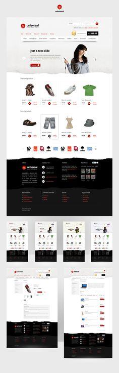Universal - OpenCart Premium Theme by SlaYerprk.deviantart.com on @deviantART
