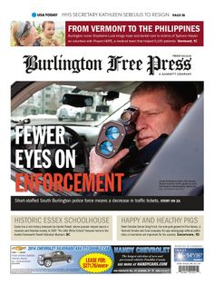 Today's Burlington Free Press www.burlingtonfreepress.com