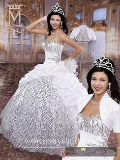 Marys Bridal Quinceanera Style F13-4Q901 - Marys Bridal F13-4Q901 Quinceanera - Princess.