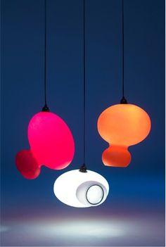 Blimpy - Rotationally moulded polyethylene lamp shade - Philip Watts Design - Nottingham