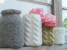 sweaters for jars