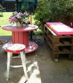 Elegant Sommer Lounge aus Europalette DIY Sitzecke Gartenm bel selber machen
