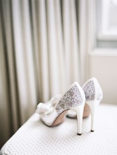 #lace #shoes | London Wedding from Polly Alexandre Read more - http://www.stylemepretty.com/2013/11/01/london-wedding-from-polly-alexandre/