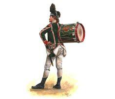 British 63rd Regiment of Foot, Drummer 1775- 1776
