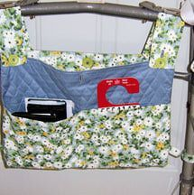 Sew a Hanging Bag for a Walker with This Free Pattern