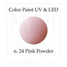 Color Paint uv gel n.24 Pink Powder