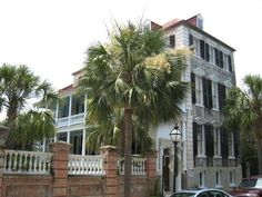 """Learn more about regional architecture and the """"Charleston Single""""..."""