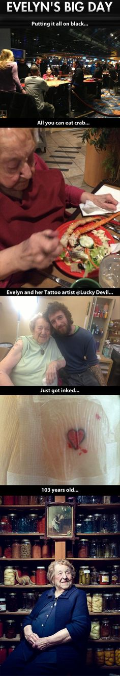The coolest grandma on earth…i love her!