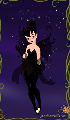 I've done just about everything else w/ this little dress-up game. Only thing left seemed to be the Goth look. She actually looks weird as a Goth, but i. Tinkerbell as a Goth Emo Disney, Hades Disney, Dark Disney, Disney Art, Tinkerbell And Friends, Tinkerbell Disney, Tinkerbell Fairies, Disney Fairies, Tinkerbell Pictures