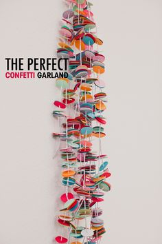 DIY - The perfect confetti garland