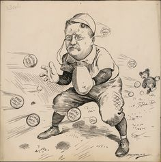 Berryman, Busy Season for the Shortstop, 1906 | Humanities Texas