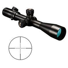 The Bushnell Elite Tactical 4.5-30x50mm Mil-Dot Reticle Rifle Scope features blacked out cosmetics, target turrets and all the specs needed for hairsplitting precision at the longest range. The scope