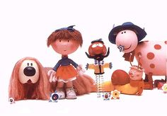 Magic Roundabout - Dougal, Florence, Zebedee, Brian the Snail, Dylan...