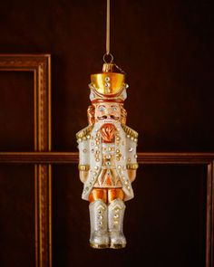 Jay Strongwater Royal Nutcracker Christmas Ornament