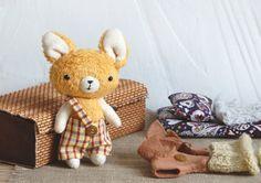 Dress up Toy  Stuffed Toy  Toy set  Play Set  by IrinaMargarita