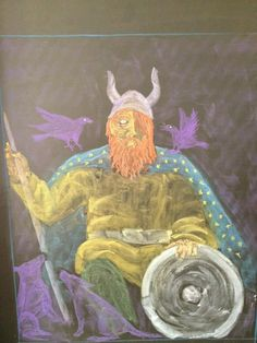 The Waldorf School of San Diego Grade 4 studying Norse Mythology