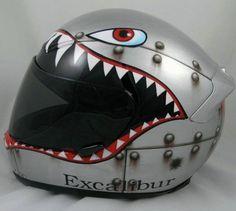 I'm painting my helmet like this!
