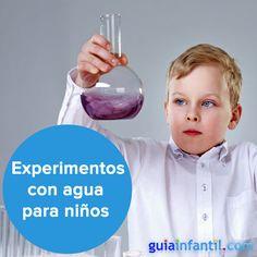 Con el agua nos bañamos, bebemos...¡y experimentamos! http://www.guiainfantil.com/articulos/ocio/manualidades/experimentos-con-agua-para-hacer-con-ninos/