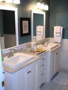 Get ideas and info on transitional bathroom decor, and prepare to add a bathroom design that blends different eras.