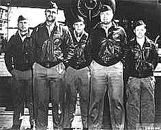 Doolittle Raid Crew No. 5 (Plane #40-2283, target Tokyo): 95th Bombardment Squadron, Capt. David M. Jones, pilot; Lt. Ross R. Wilder, copilo...
