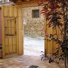 El portón de la entrada