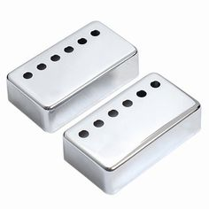 1set of 2pcs Humbucker Neck & Bridge Guitar Pickup Covers Chrome High Quality by Guitar bass cover parts. $5.85. 100% Brand new, never used item 100% like the picture shown  Material: Metal  Cover Color: Chrome  SIZE?( L )68 mm x ( W )39 mm   Pole Spacing: 50mm x 1 52 mm x 1  Package Include:  1 Pair Humbucker Pickup Covers We manufacture all kinds of instrument parts and conduct The direct model so that our price is very low with high quality.