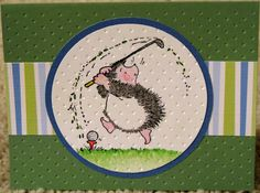 A golfing hedgehog!?