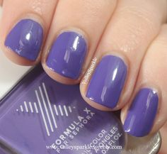 Formula X for Sephora Indelible Nail Color | Review & Swatches