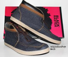 Black Master Casual, size 39-44 | Order by Pin BB 2303214F, WA 08568328201 or Line Wisyadiashop