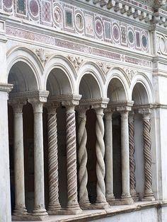 :) Cloisters in San Giovanni in Laterano