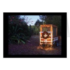 Christmas trailer lights card - Xmascards ChristmasEve Christmas Eve Christmas merry xmas family holy kids gifts holidays Santa cards