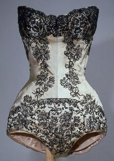 Charles James theatrical corset, circa late 1950s...collection MFIT