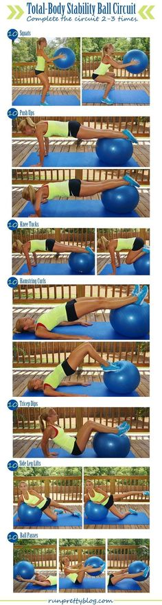 Stability Ball Total-Body Workout
