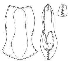 Fig. 8. Rawhide Shoe (bróg úírleathair). National Museum 1908 : 247. Aran Islands, Co. Galway.