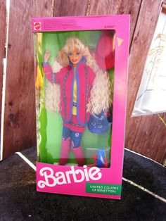 Mattel 1990 United Colors of Benetton Barbie.