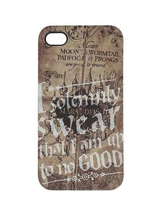 Harry Potter Solemnly Swear iPhone 4/4S Case | Hot Topic