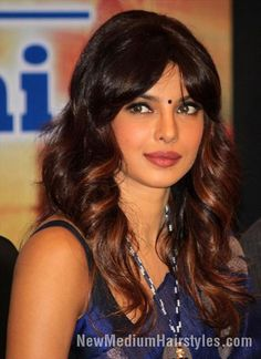 nice Best Priyanka Chopra Hairstyle for Girls //  #Best #Chopra #Hairstyle #Priyanka
