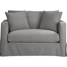 Willow Twin Sleeper Sofa...Deso, Pepper  (also like Cafe and Haze)