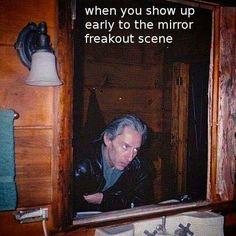 Twin Peaks is lyfe! hahahaha, oh bob..