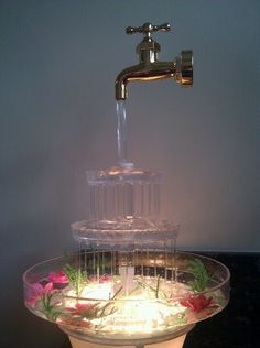 Fuentes de agua on pinterest feng shui water fountains for Fuentes decorativas de pared