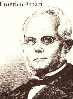 Emerico Amari (10 de mayo de 1810 — 20 de septiembre de 1870), jurista italiano.