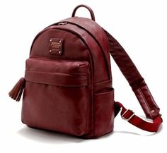 4b11bacc3a3b44 New Synthetic Leather Waterproof Bag   MONOPOLY   CLASSY Leather Backpack