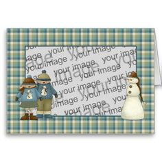 Christmas cards to customise with your own photo