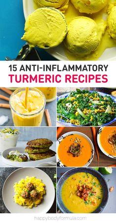15 Anti-inflammatory Turmeric Recipes