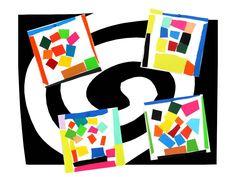 Arts visuels : Henri Matisse Activités de découpage d'après les oeuvres de l'artiste - fiche du peintre