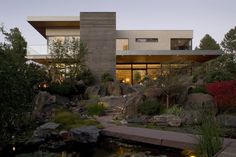Sophisticated Living Style Mirrored by a Massive Residence in Colorado    #architecture