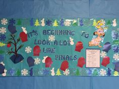 Counseling Bulletin Boards, Red Ribbon