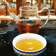 Tasting 15 year old Gushu Bai Cha (aged white tea from 100 year old tea trees) in one of our most beloved teashops at Da Xinan Tea City in Chengdu. They added a little bit of dried tangerine peel to the brew🍊, so that we could enjoy notes of citrus fruits in those rainy days. The liquor is deep thick and golden-yellow...#teaforrainydays #teatime #herbatadobranawszystko #deszczowedni #whitetea #gushubaicha #白茶 #古树白茶 #bialaherbata #herbata #teacity #Chengdu #China #Chinesetea #中国茶 #teagram Citrus Fruits, Chinese Tea, Chengdu, Golden Yellow, Tea Tree, Rainy Days, Liquor, Brewing, The 100