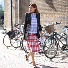 #tartan streetstyle fashion week stylesnooperdan